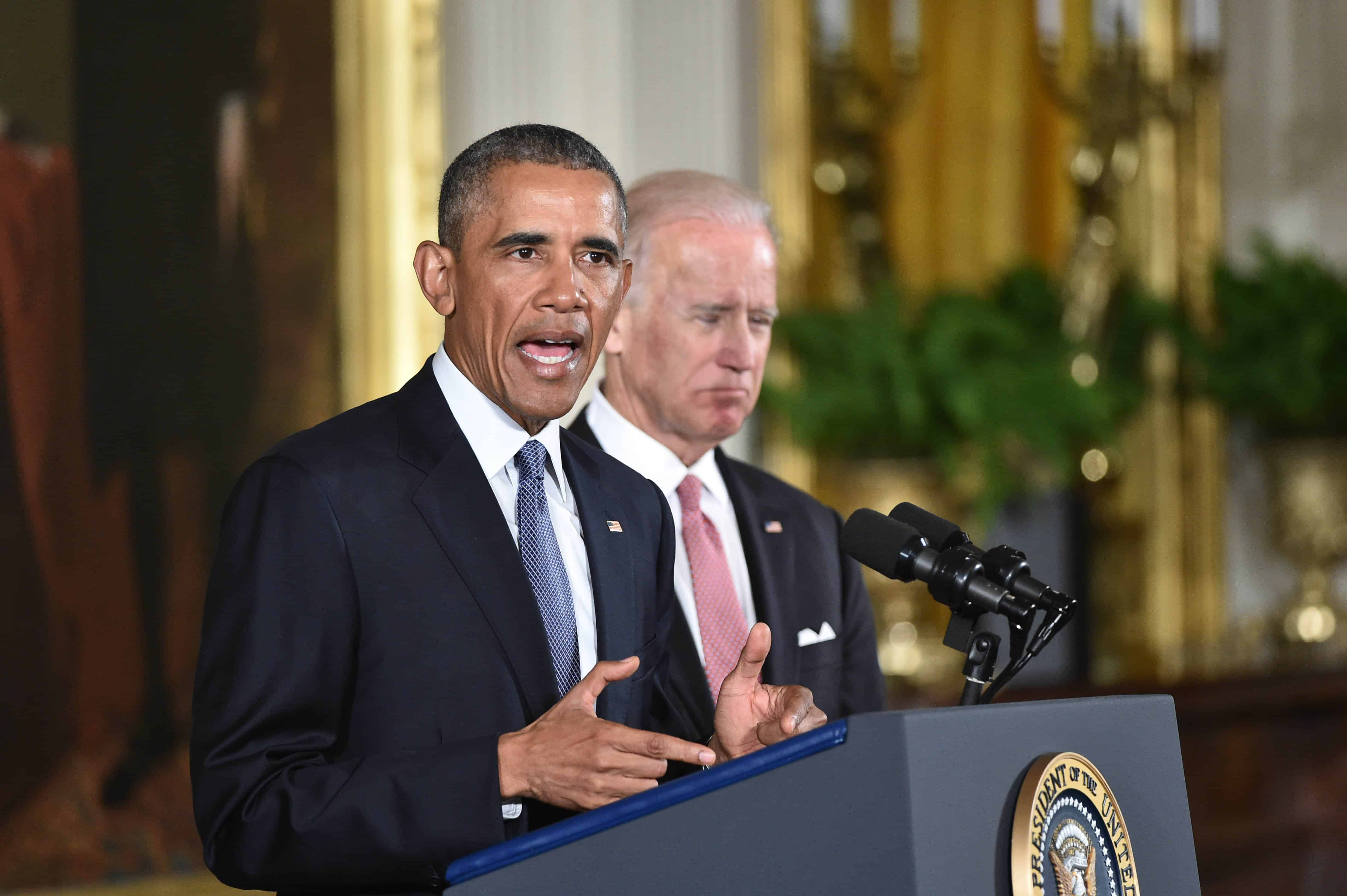 U.S. President Barack Obama speaks on gun control