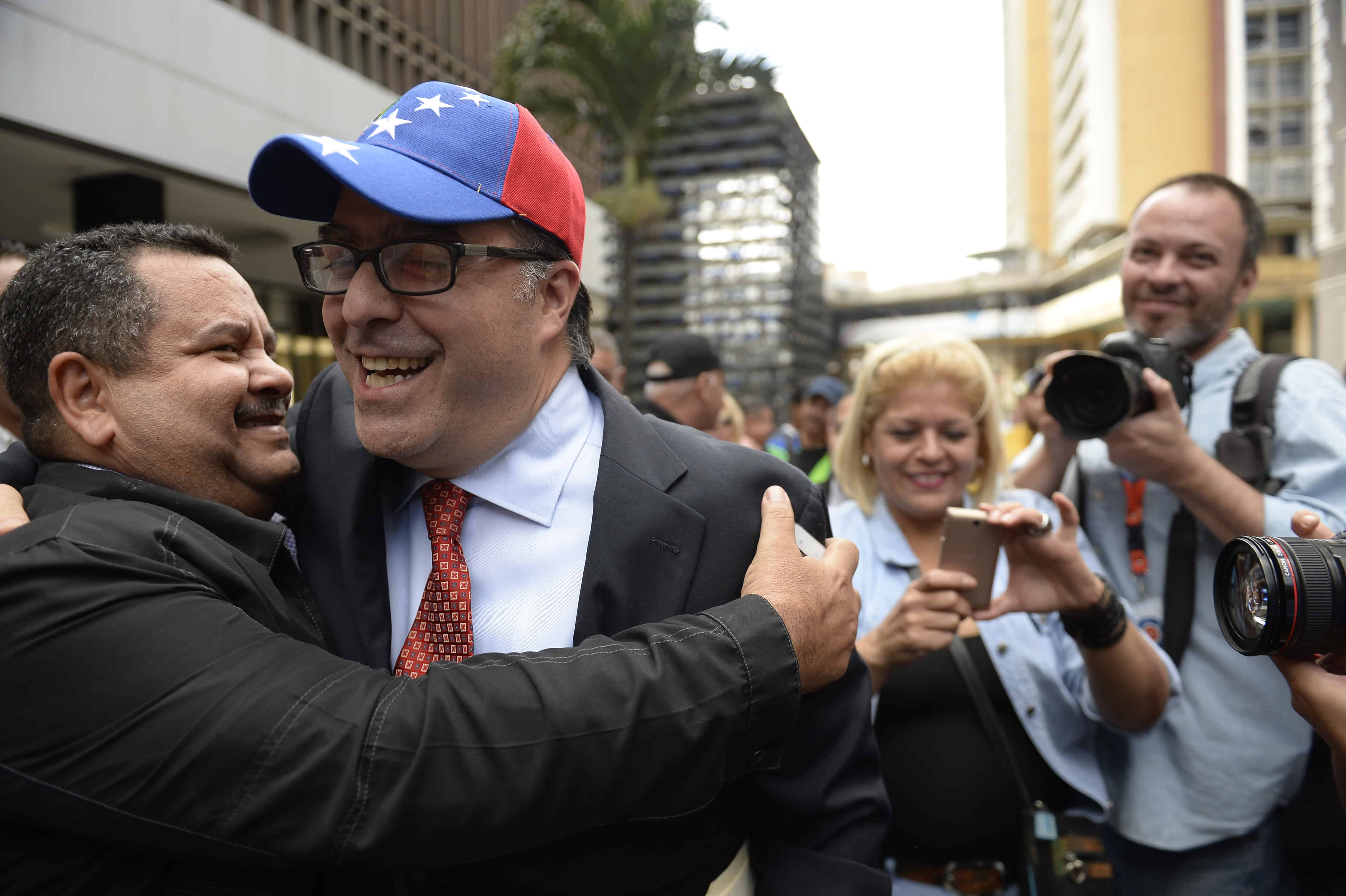 Venezuela opposition lawmaker Julio Borges
