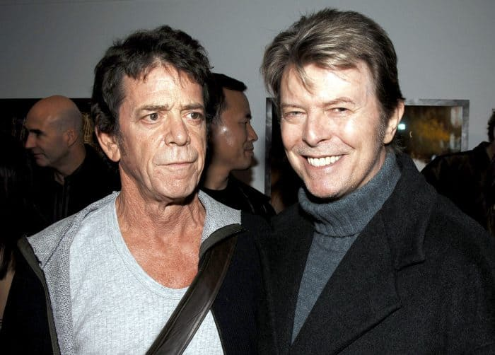 David Bowie and Lou Reed