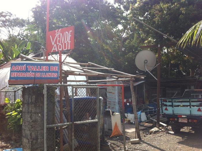 Jorge's auto repair shop.