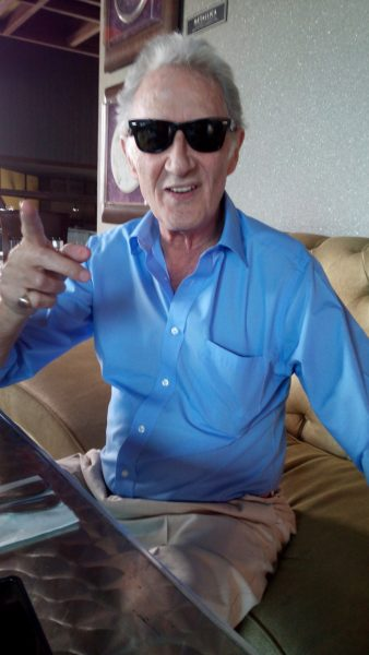 Dave Scott in his signature Raybans.