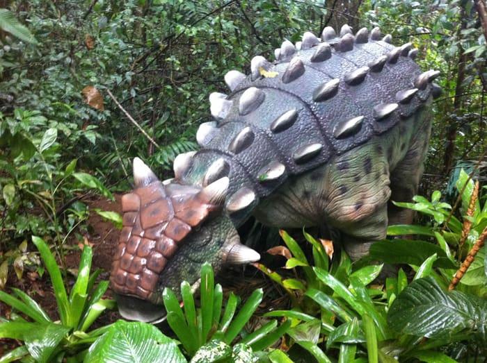 Ankylosaurus.