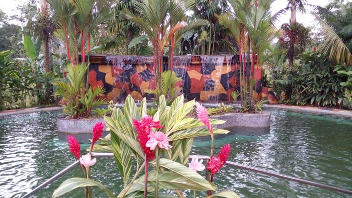 Pool at Blue River Resort.