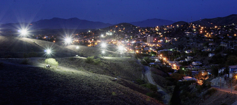 U.S.-Mexico border at Sonora, Mexico.