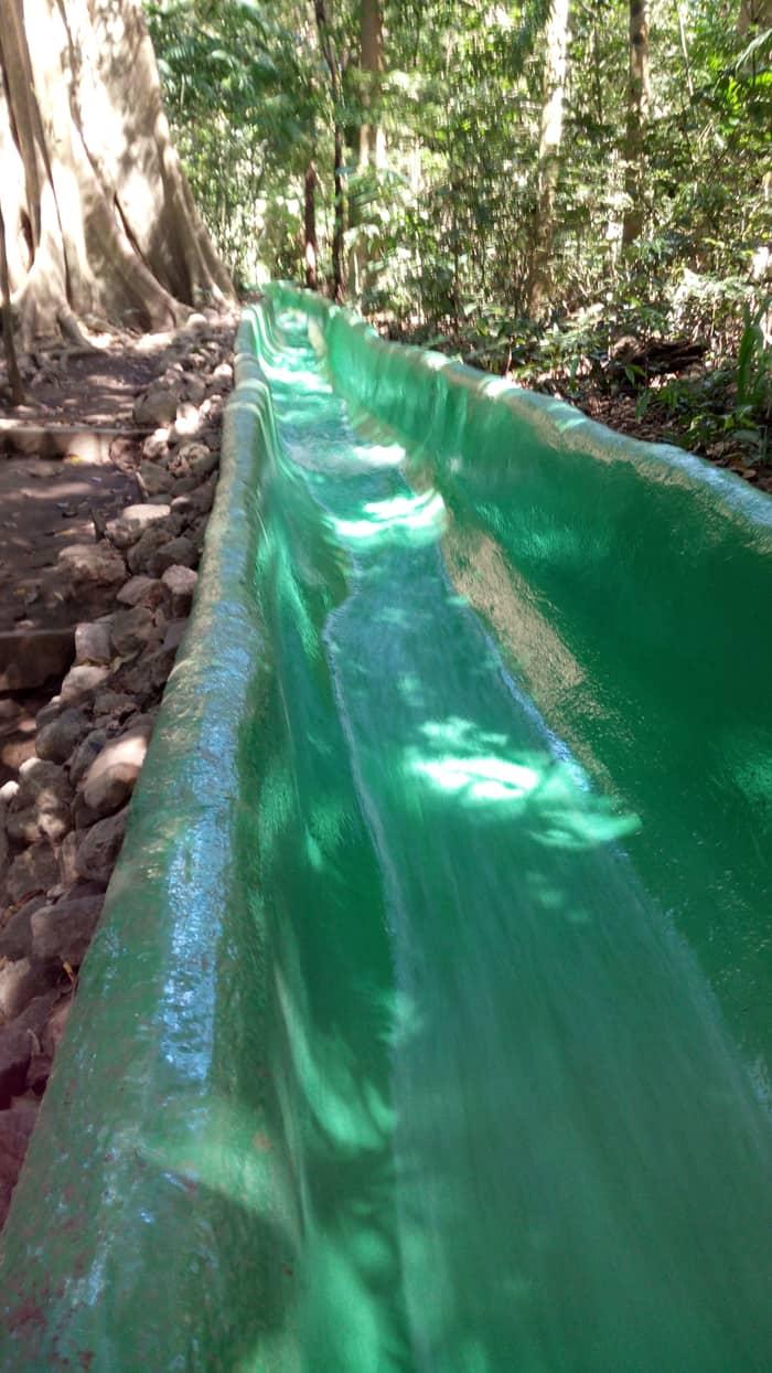 Waterslide at Buena Vista Lodge.