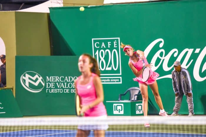 Copa del Cafe doubles match