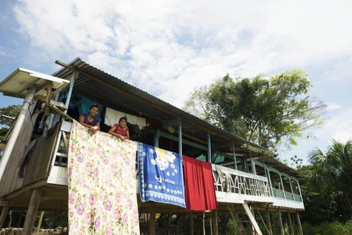 Amazon kids: Santa María de Fátima, Peru