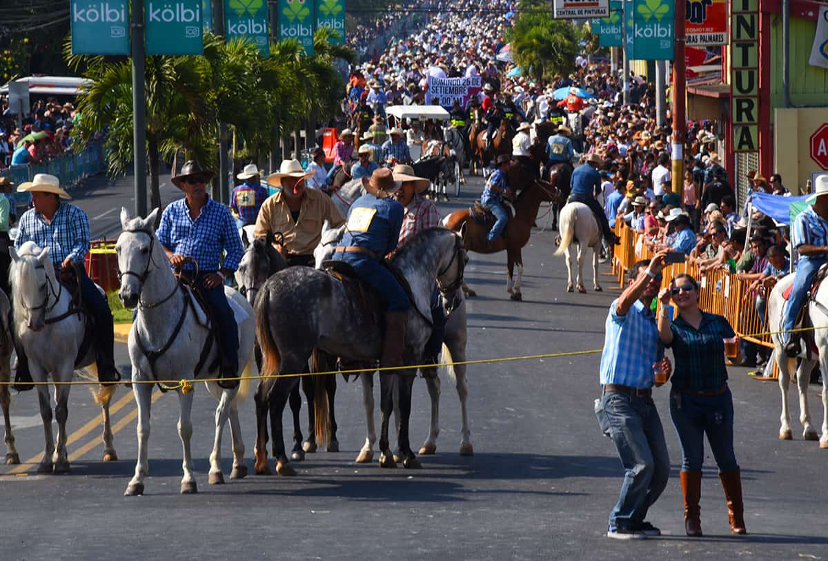 Palmares Festival Tope 2016, Costa Rica