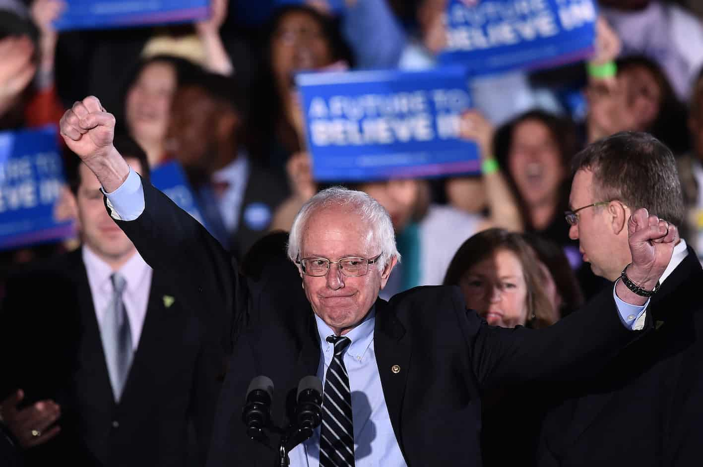 New Hampshire primaries: Bernie Sanders