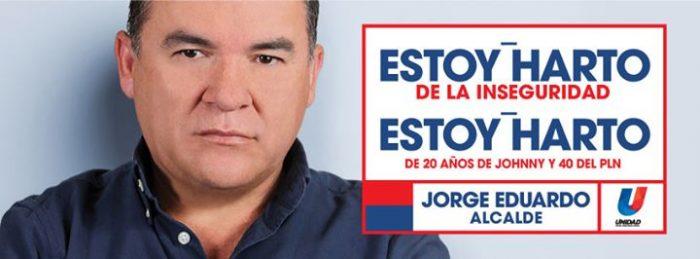 Jorge Eduardo Sánchez mayoral campaign 2016
