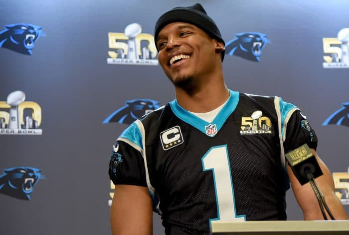 Cam Newton of the Carolina Panthers | Super Bowl 50