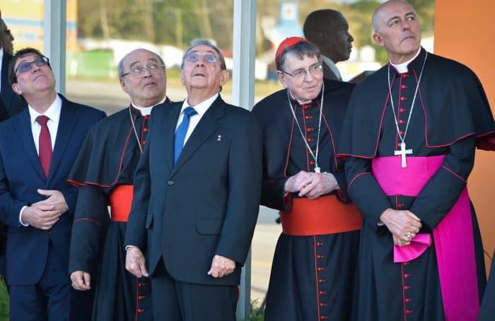 Cuba President Raúl Castro, Pope Francis
