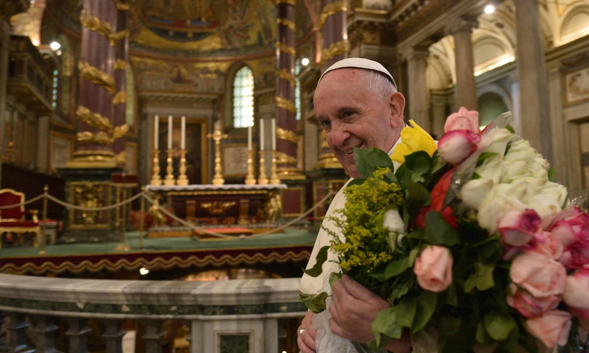 Pope Francis in Rome after Mexico trip