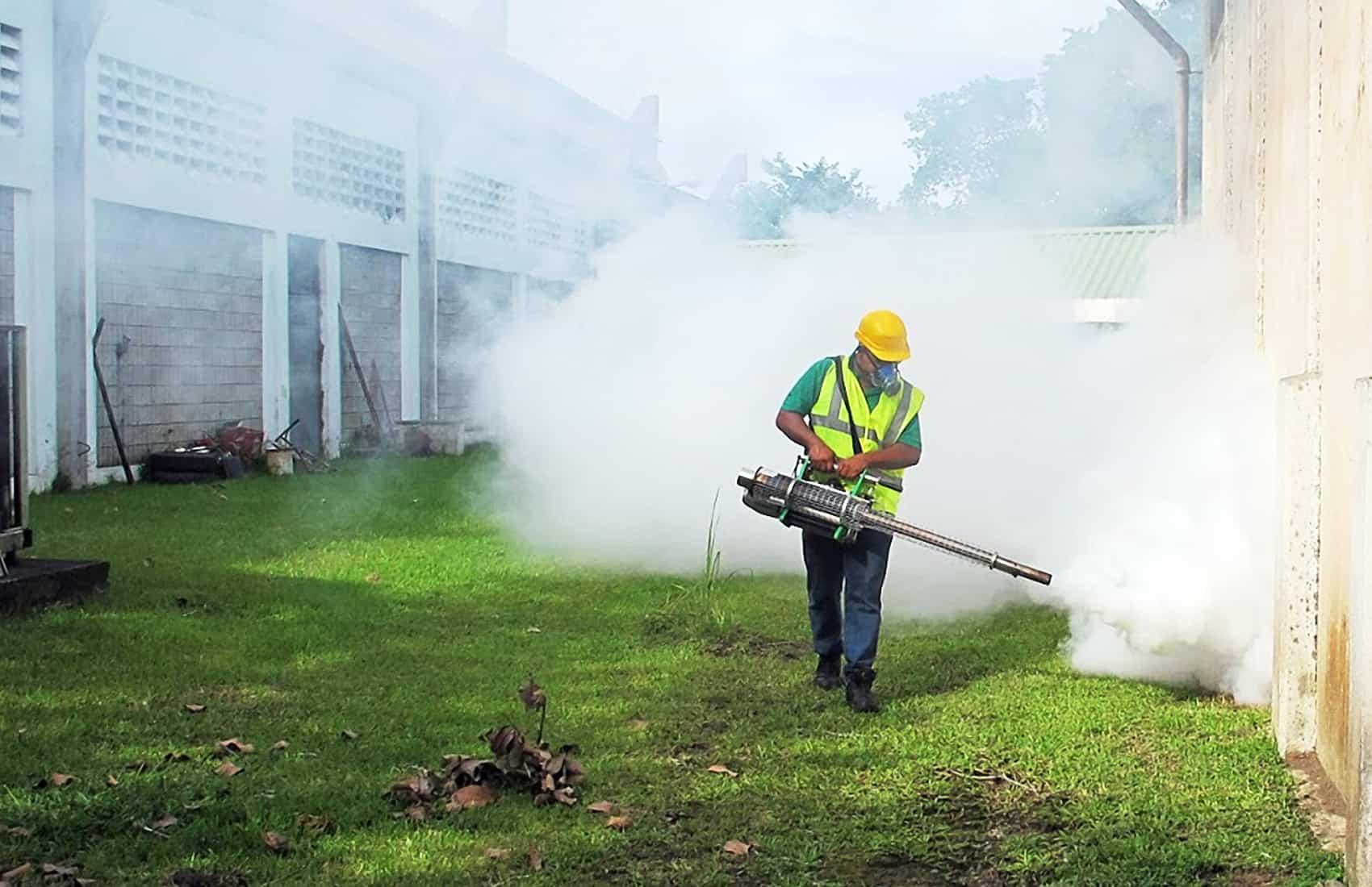 Fumigation against Zika in Guanacaste, Feb. 2016