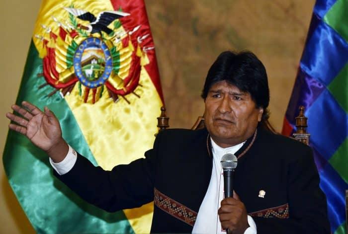 Bolivia President Evo Morales