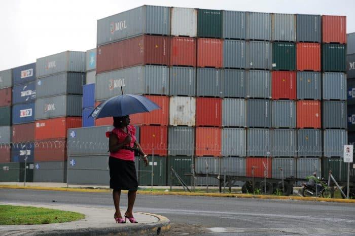 Panama free trade zone in Colón