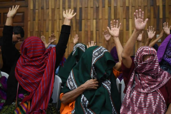 Guatemala indigenous sex slaves victims celebrate