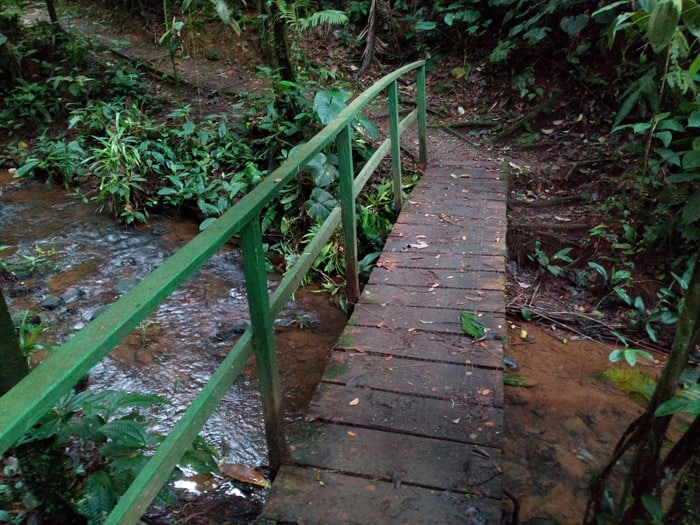 Puentecito (little bridge).