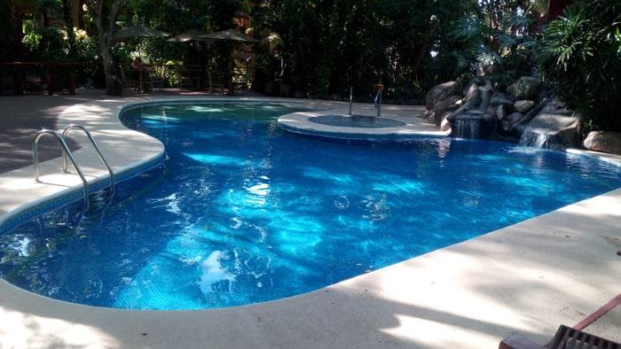 Pool at Bosque del Mar.
