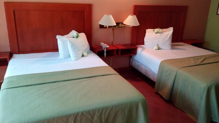 Beds at El Velero.
