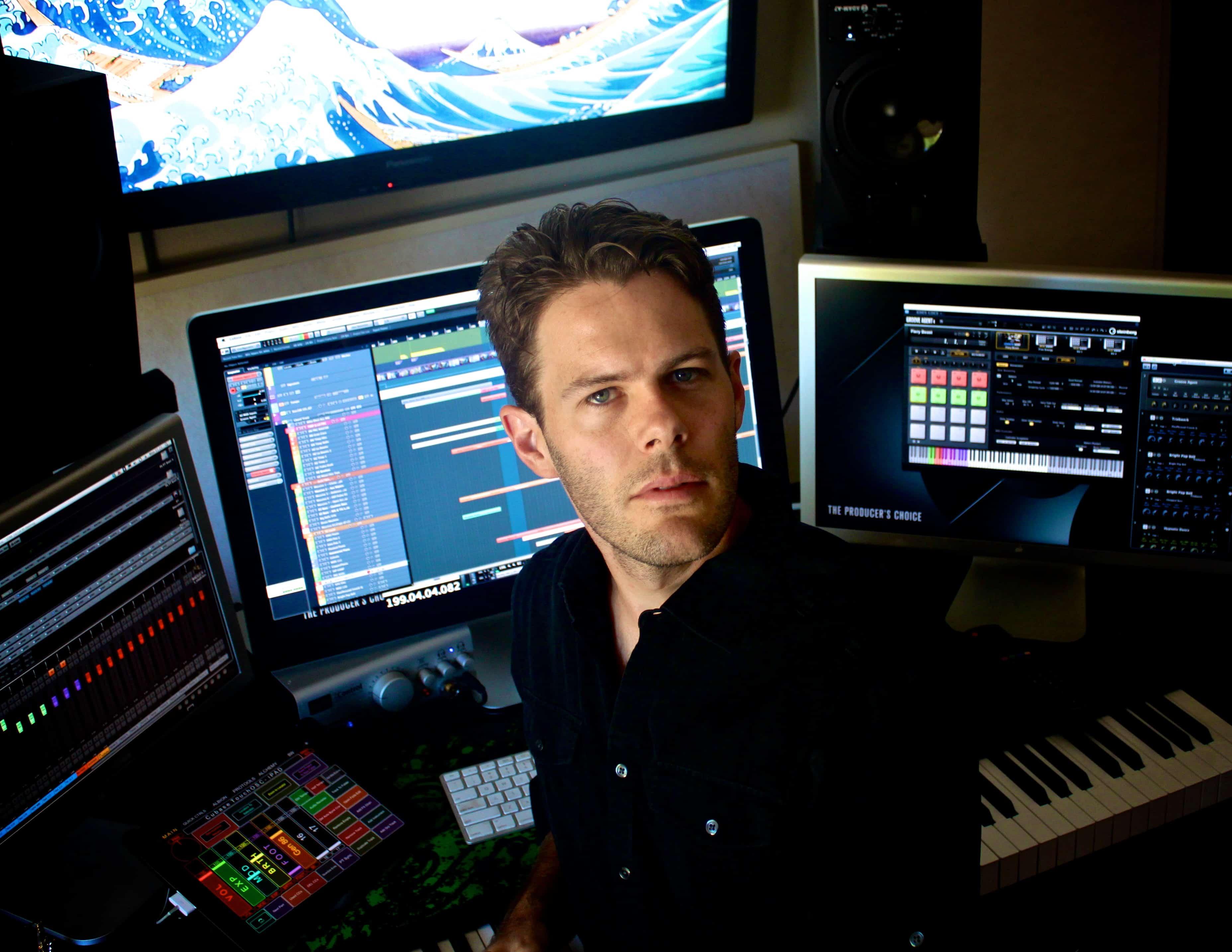Composer Pieter Schlosser transforms emotions into music.