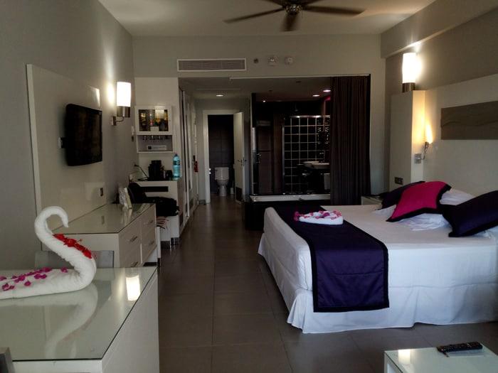 Room at RIU Palace.