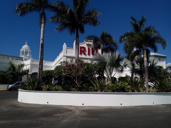 The RiU Palace.