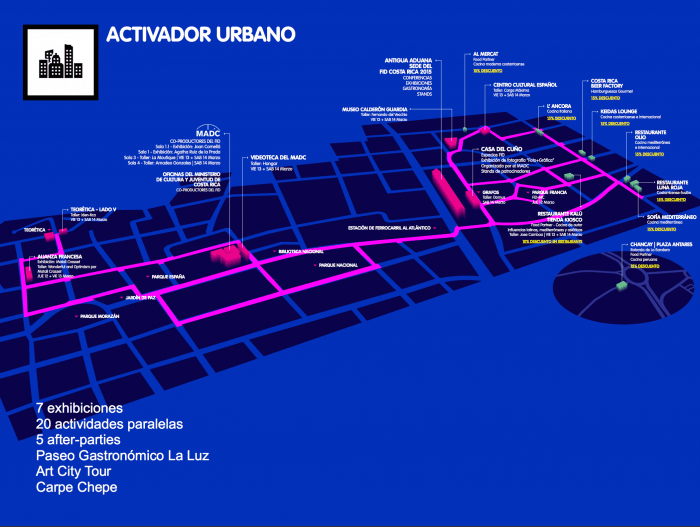 The FID has become an urban activator for San José.