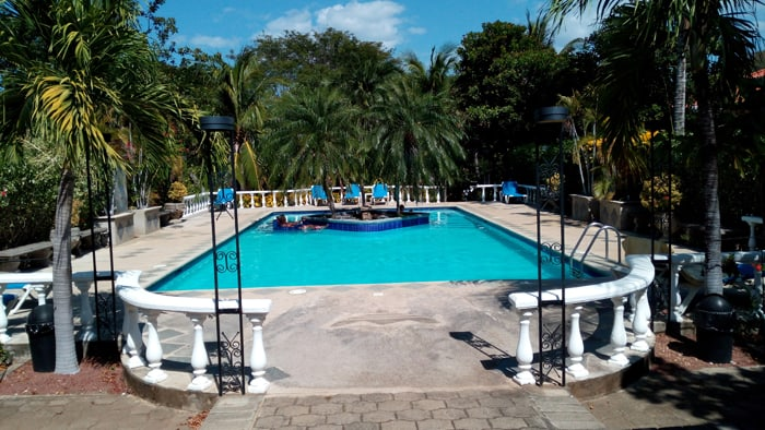 One of the pools at Villa del Sueño.