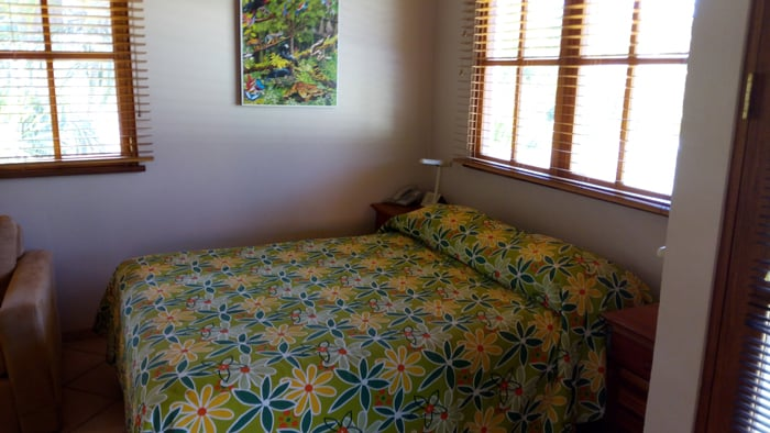 Bed at Villa del Sueño.