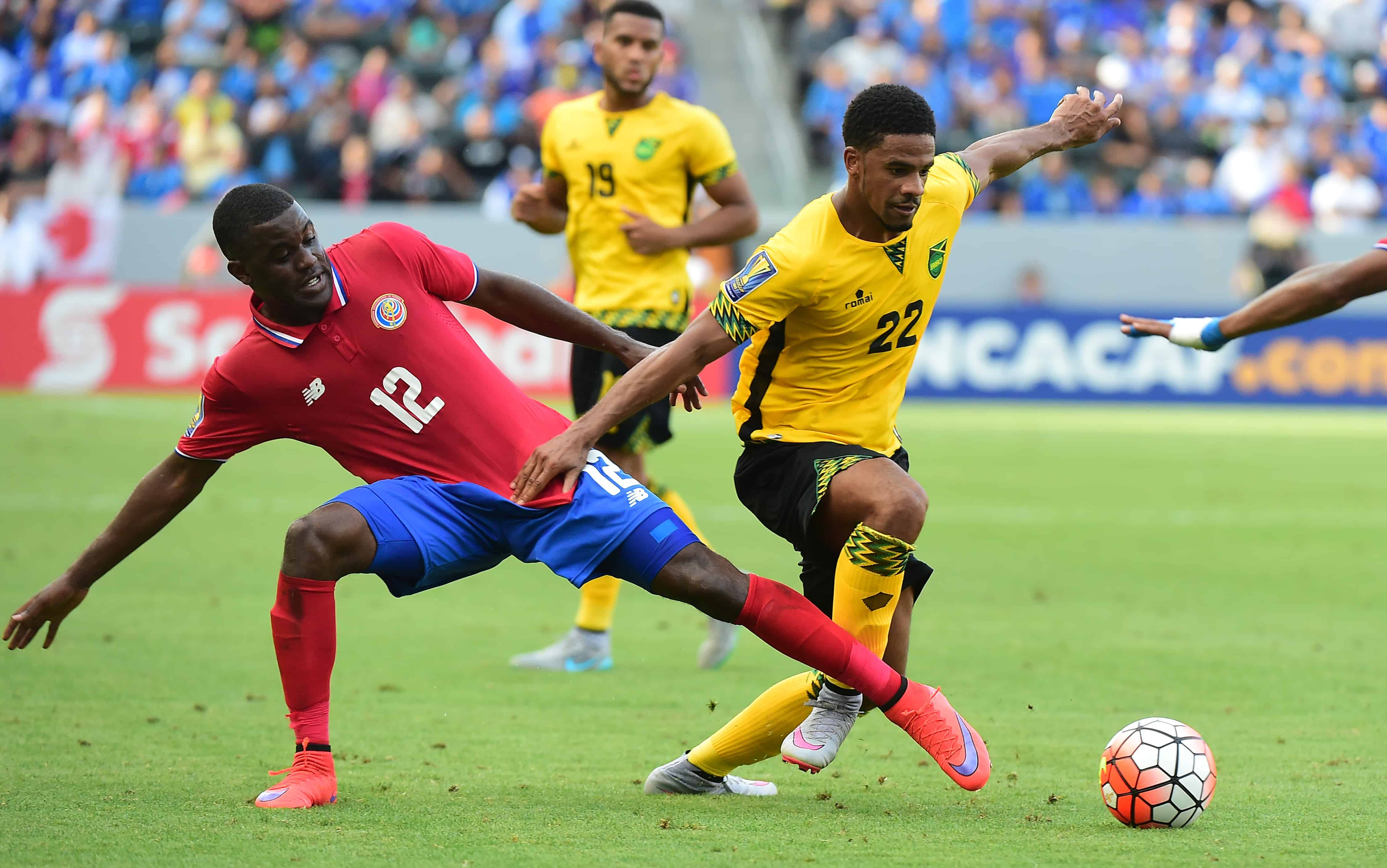 e890e2fe8e3 Costa Rica maintains edge in World Cup Qualifying with tie against Jamaica