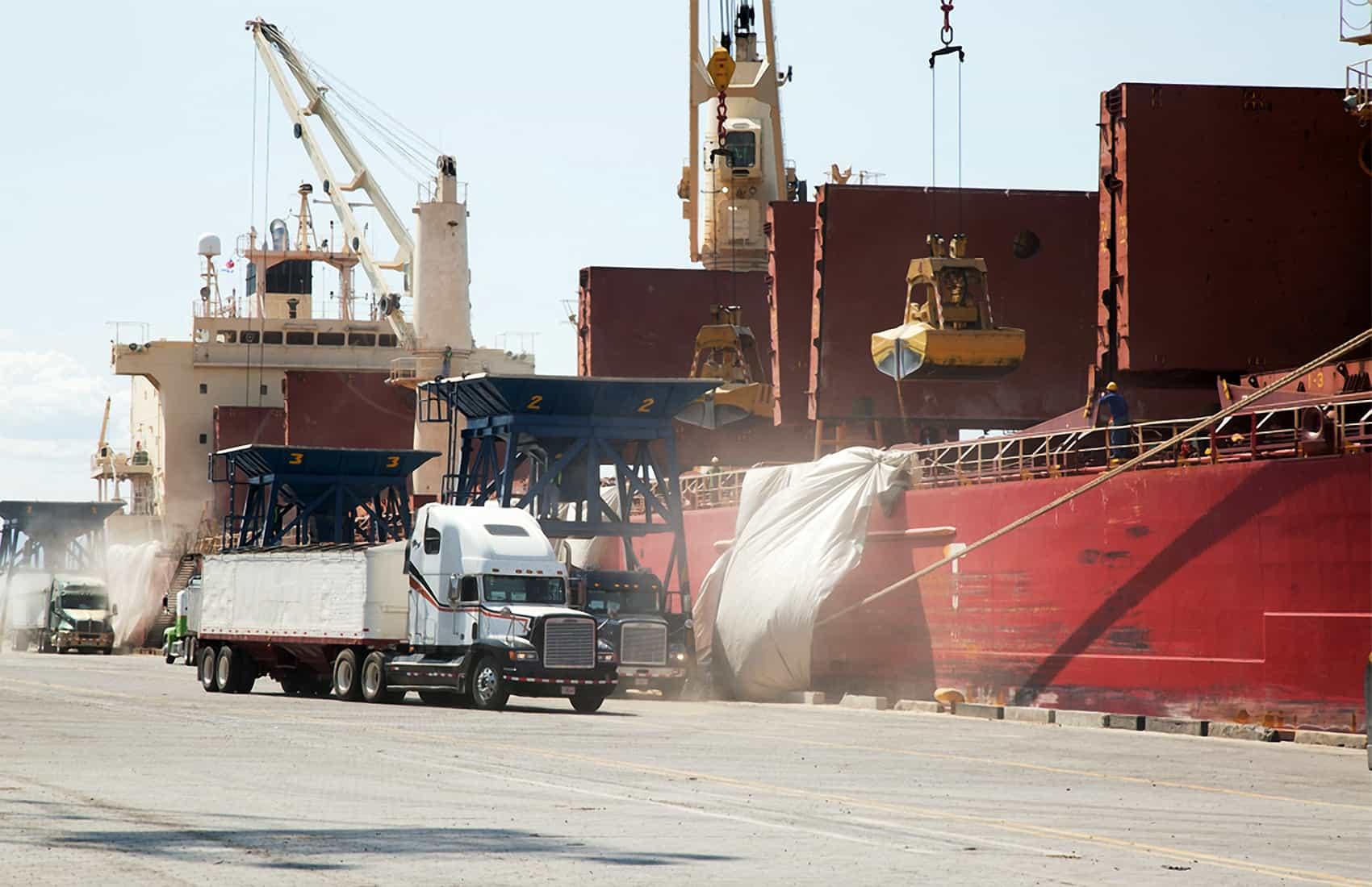 Caldera Port, Puntarenas, home of a new cargo ferry