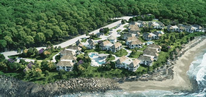 Artist's rendering of Pavones Point.