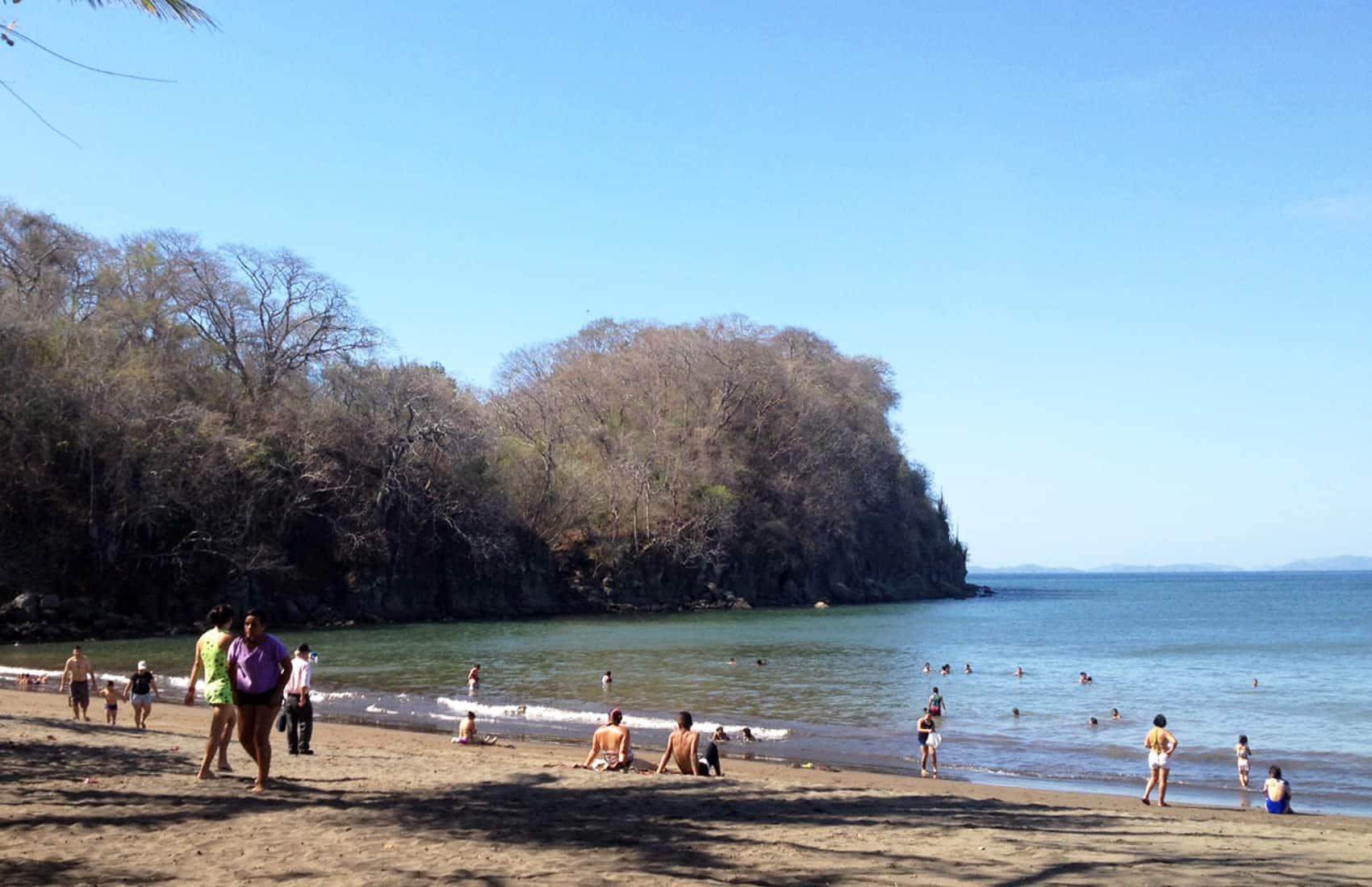 Doña Ana beach, Puntarenas.