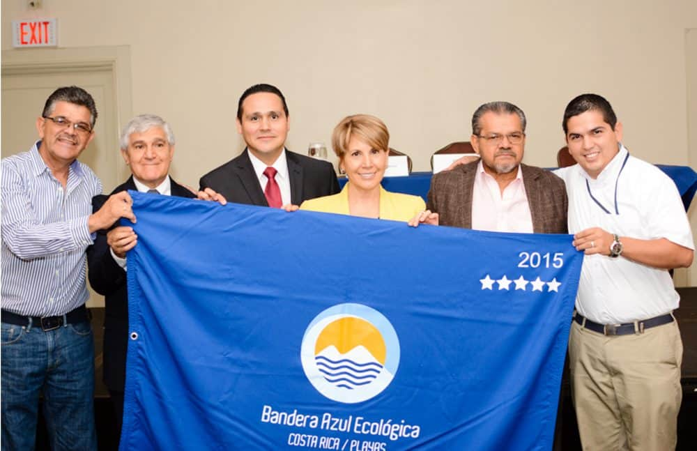 Blue Ecological Flag awards 2015. March 2016.