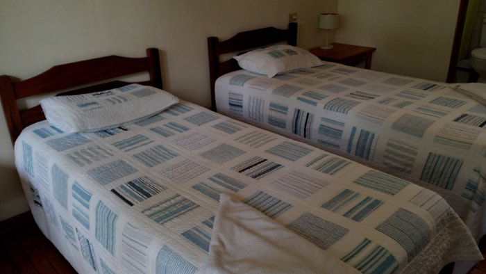 The beds in my room at Las Cruces Biological Station.
