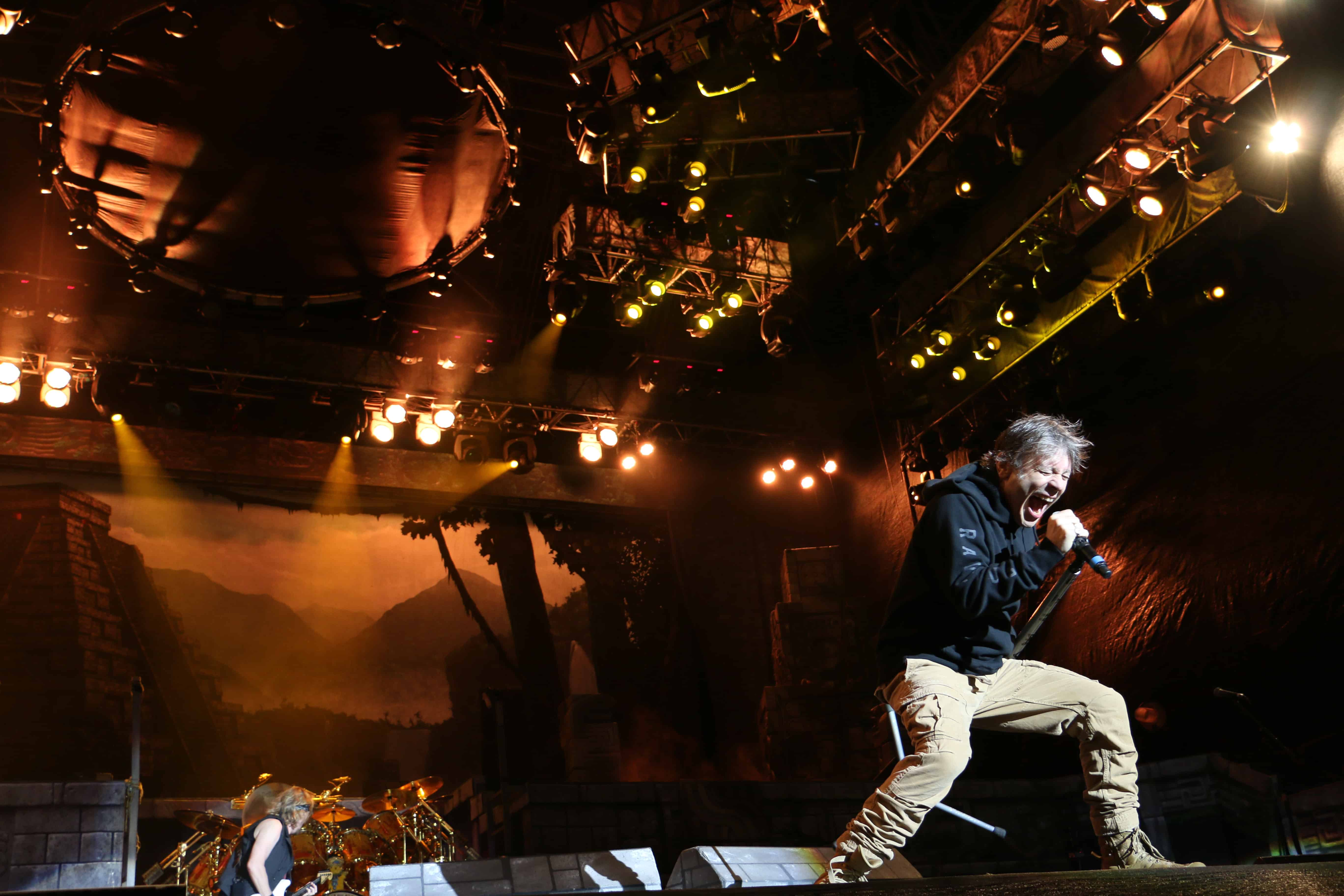 Iron Maiden concert, March 8, 2016, San José.