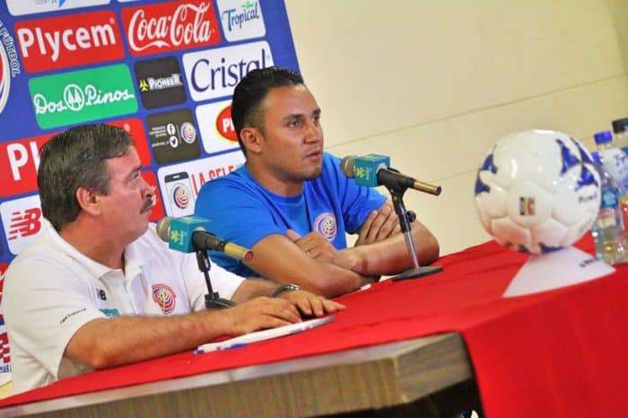 Keylor Navas press conference | Costa Rica football