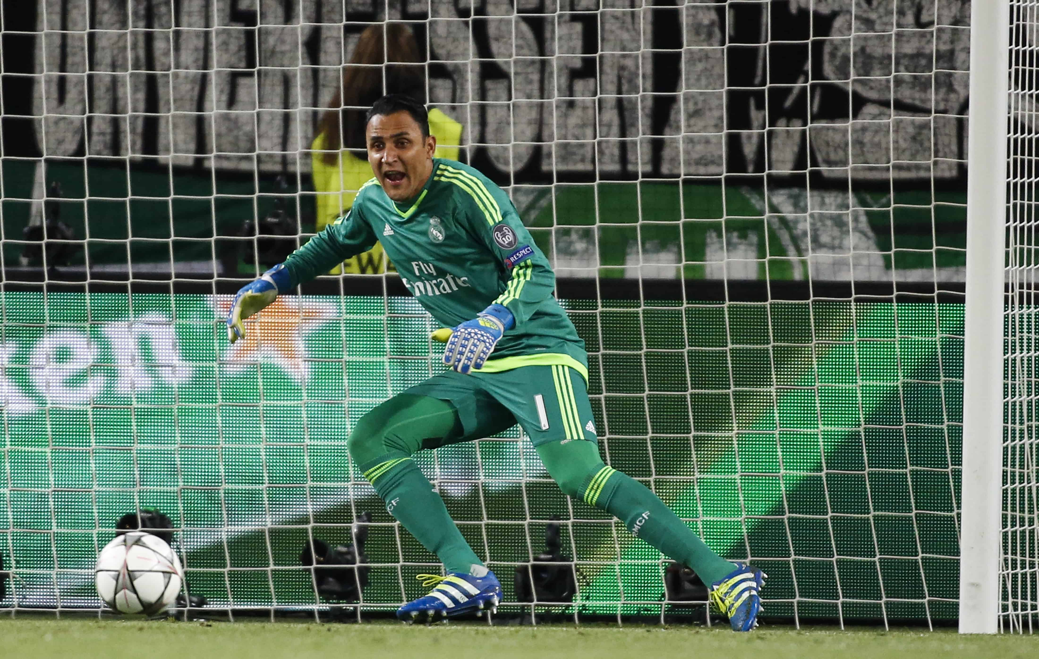 Keylor Navas Champions League