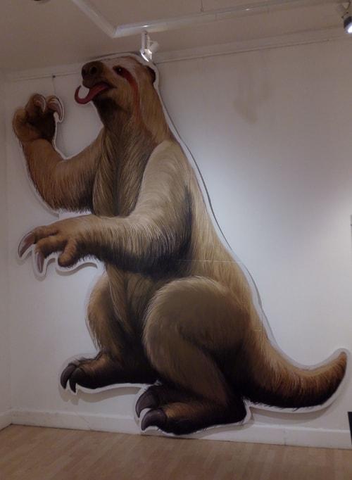 Giant ground sloth.