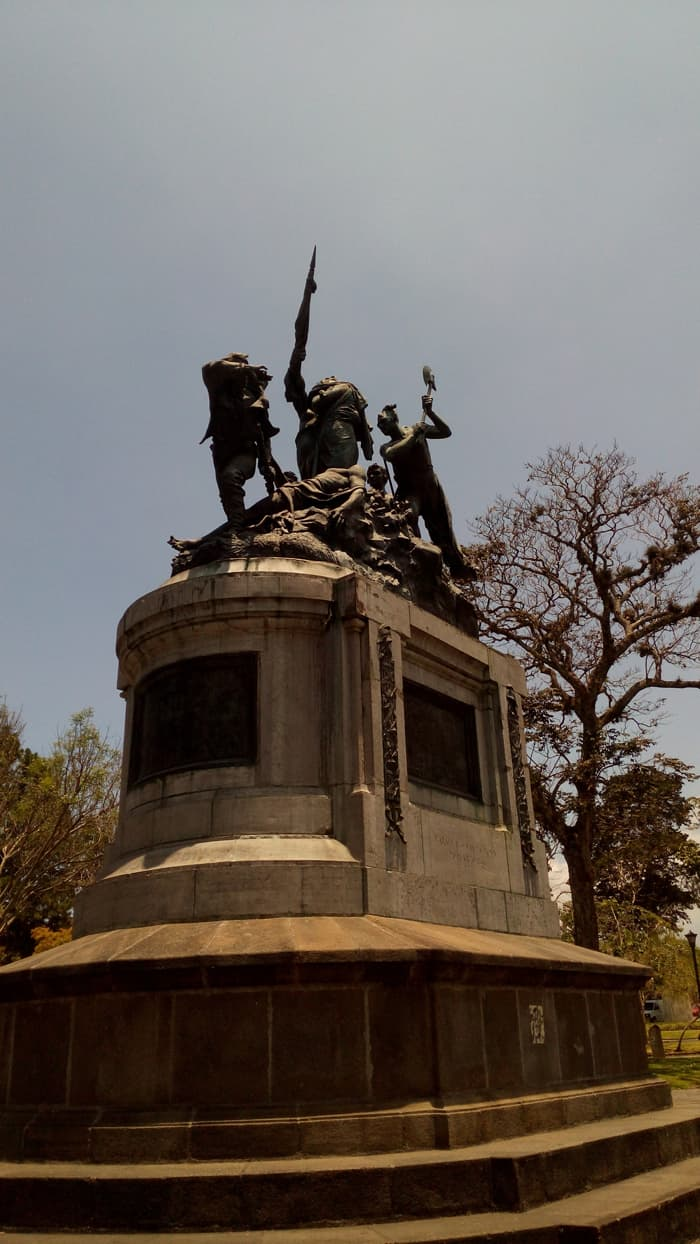 Monument in Parque Nacional celebrating the defeat of U.S. adventurer William Walker.