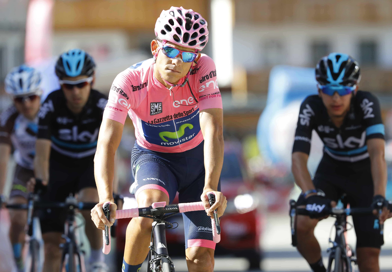 Andrey Amador Giro d'Italia finish
