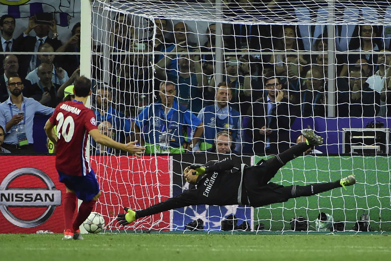 Keylor Navas Champions League win