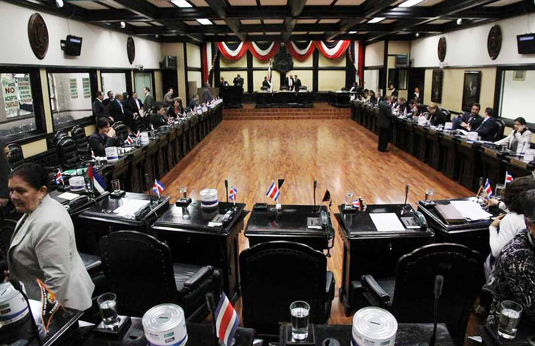 Costa Rica's Legislative Assembly.