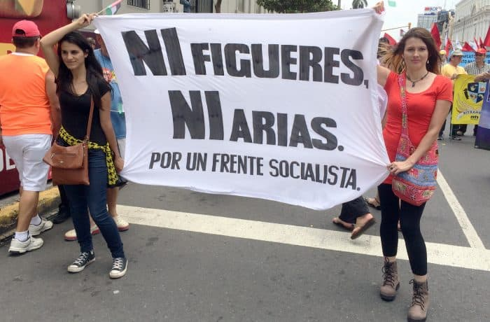 May Day Protest. May 1, 2016.