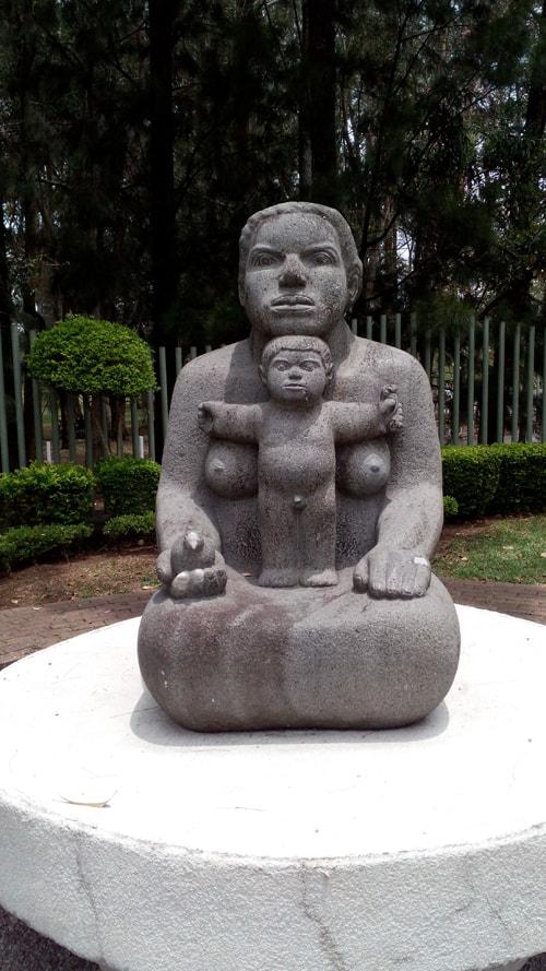 """""""Mother Earth"""" by Crisanto Badilla Argüello, stone, 1979."""