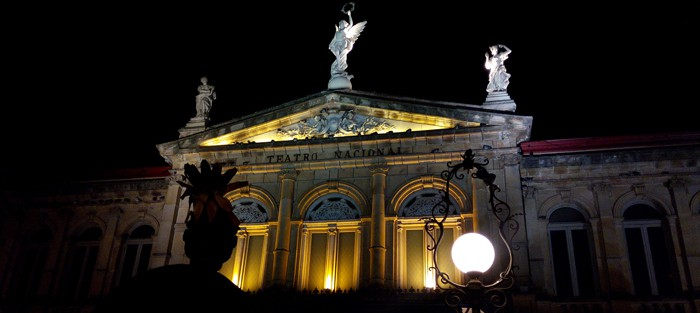 Costa Rica's National Theater.
