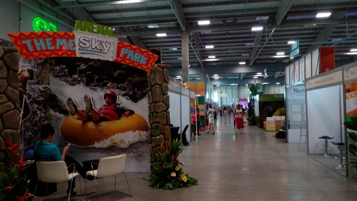 Exhibit for Sky Adventures in Arenal.