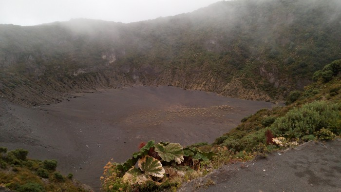 The Diego de la Haya Crater.