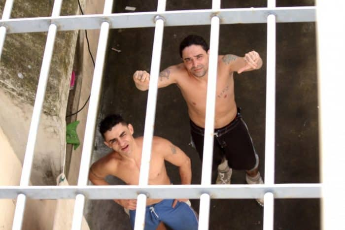 La Reforma prisoners cell